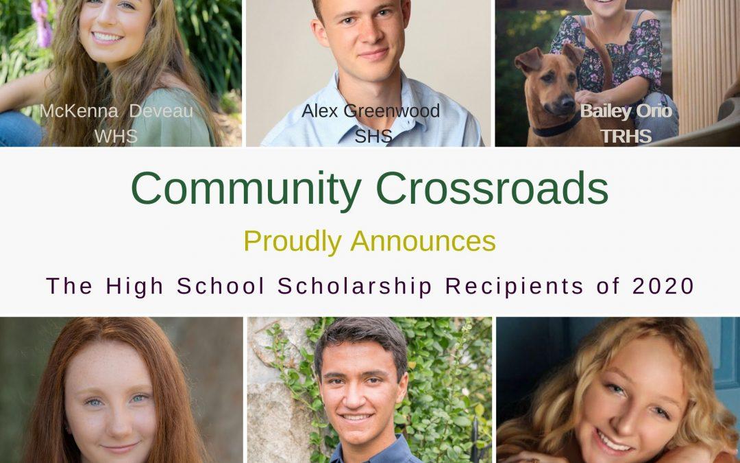 Meet our 2020 Scholarship Recipients
