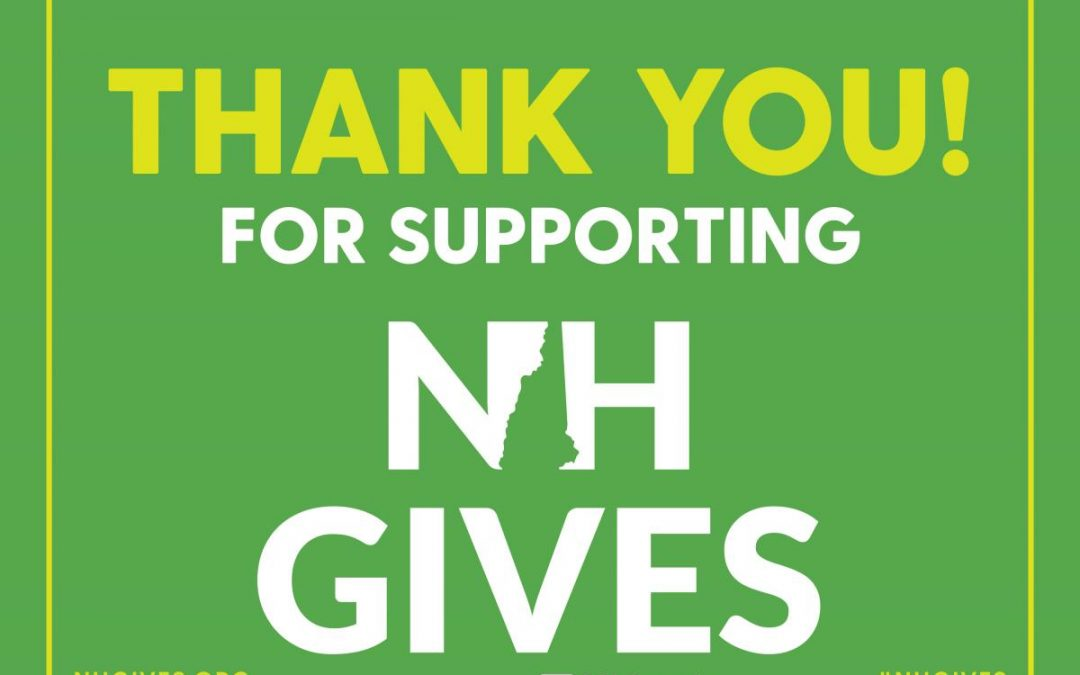 Thanks for making NHGIVES a Success!