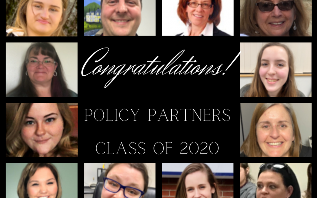 Policy Partners-2020 Graduates