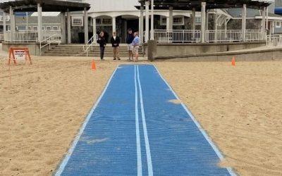 Hampton Beach Adds Beach Access Mats